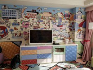 京王プラザホテル多摩のキティルームに宿泊して娘も大満足!